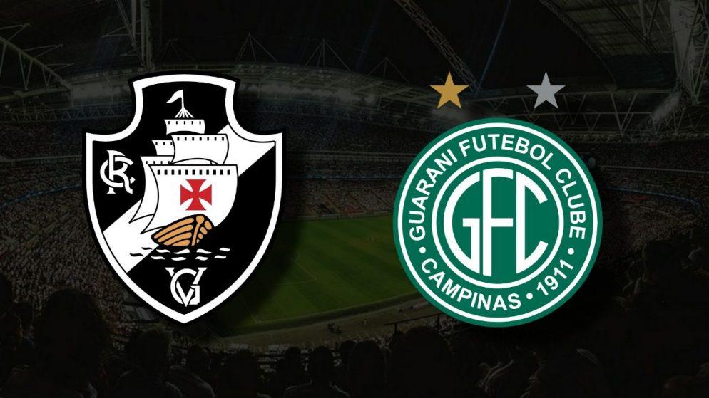 Apostas Vasco da Gama x Guarani Brasileirão Série B 24/07/21