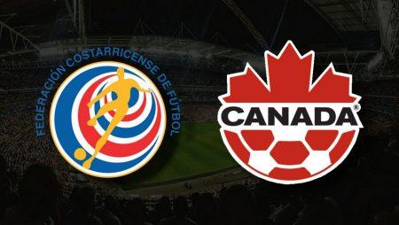 Apostas Costa Rica x Canadá Copa Ouro 25/07/21