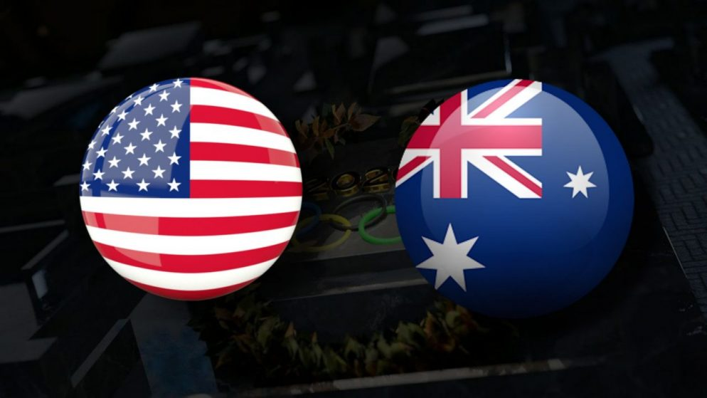 Apostas EUA Feminino x Austrália Feminino Tóquio 2020 27/07/21