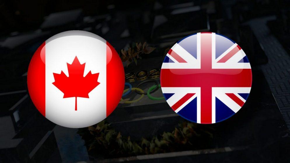 Apostas Canadá Feminino x Grã-Bretanha Feminino Tóquio 2020 27/07/21