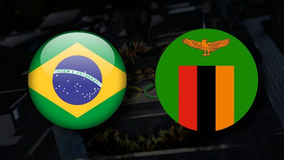 Apostas Brasil Feminino x Zâmbia Feminino Tóquio 2020 27/07/21