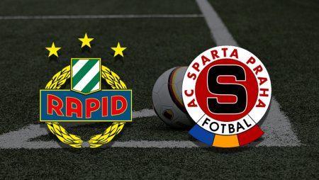 Apostas Rapid Wien x Sparta Praga Champions League 20/07/21
