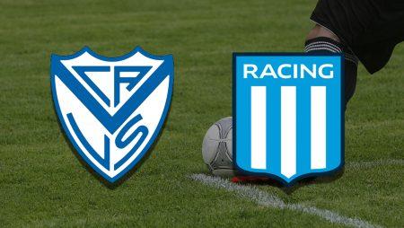 Apostas Vélez Sarsfield x Racing Campeonato Argentino 17/07/21