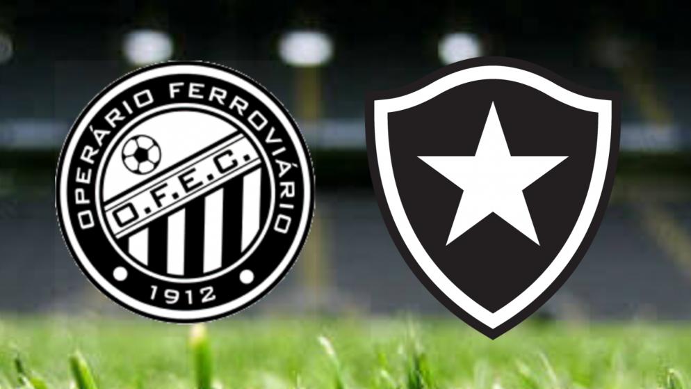 Apostas Operário Ferroviário x Botafogo Brasileirão Série B 12/08/21