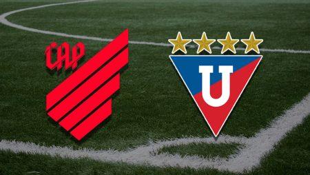 Apostas Athletico Paranaense x LDU Sul-Americana 19/08/21