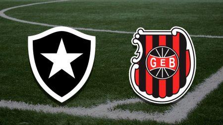 Apostas Botafogo x Brasil de Pelotas Brasileirão Série B 15/08/21