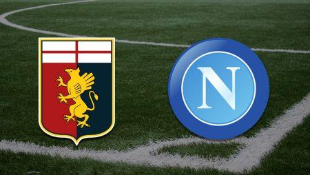 Apostas Genoa x Napoli Serie A 29/08/21