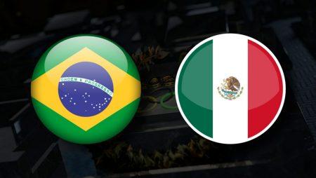 Apostas México Olímpico x Brasil Olímpico Tóquio 2020 03/08/21