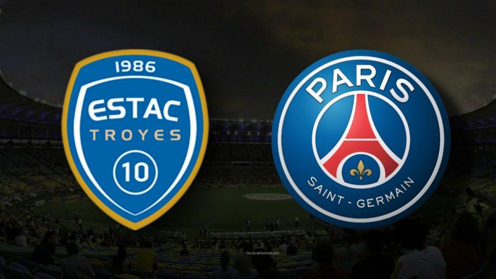 Apostas Troyes x Paris Saint-Germain Ligue 1 07/08/21