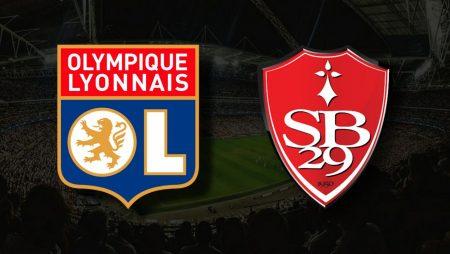 Apostas Lyon x Brest Ligue 1 07/08/21