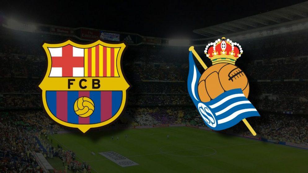 Apostas Barcelona x Real Sociedad La Liga 15/08/21
