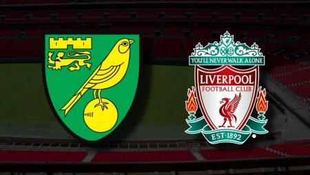 Apostas Norwich x Liverpool Premier League 14/08/21