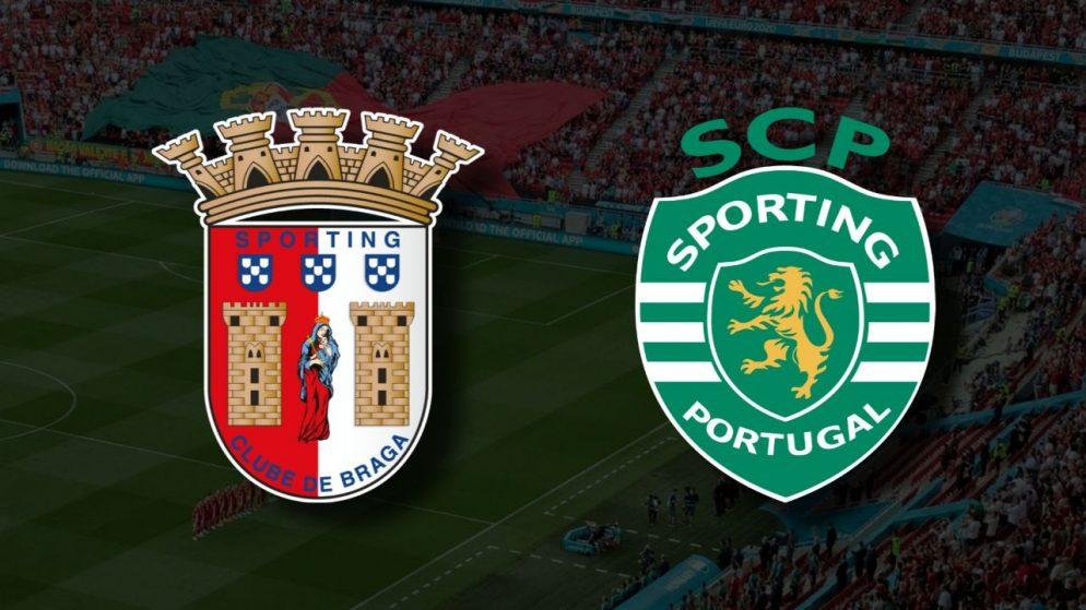 Apostas Braga x Sporting Primeira Liga 14/08/21