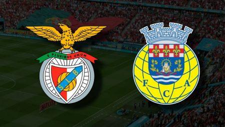 Apostas Benfica x Arouca Primeira Liga 14/08/21