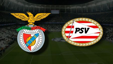 Apostas Benfica x PSV Eindhoven Eliminatórias Liga dos Campeões 18/08/21