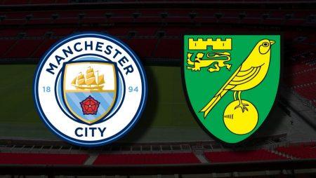 Apostas Manchester City x Norwich Premier League 21/08/21