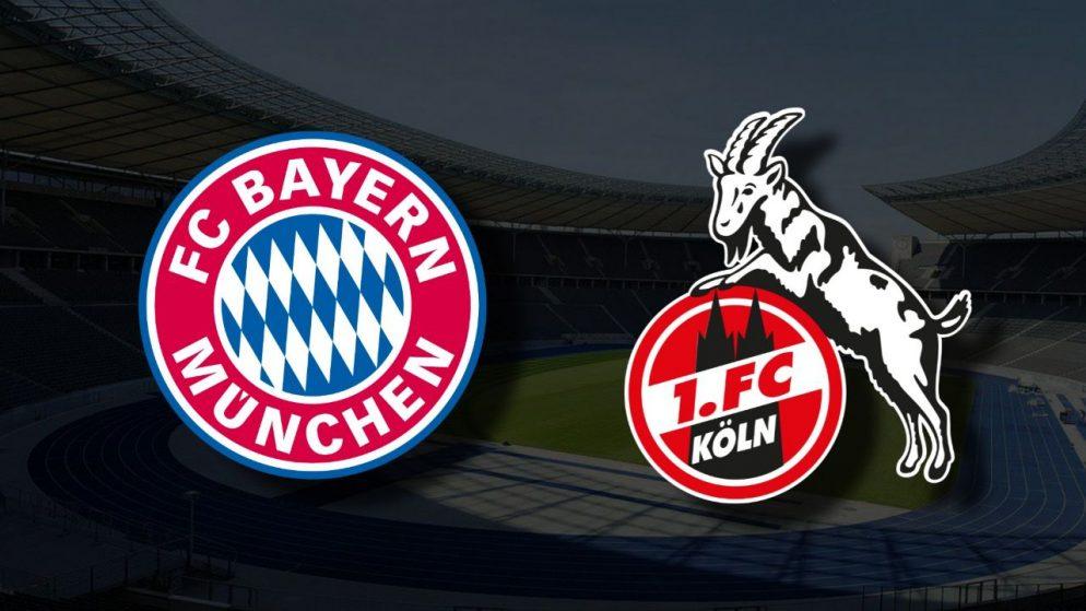 Apostas Bayern de Munique x Colônia Bundesliga 22/08/21