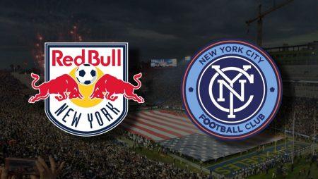 Apostas New York Red Bulls x New York City FC MLS 21/08/21