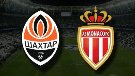 Apostas Shakhtar Donetsk x Mônaco Eliminatórias Liga dos Campeões 25/08/21