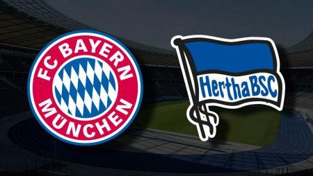 Apostas Bayern de Munique x Hertha Berlin Bundesliga 28/08/21