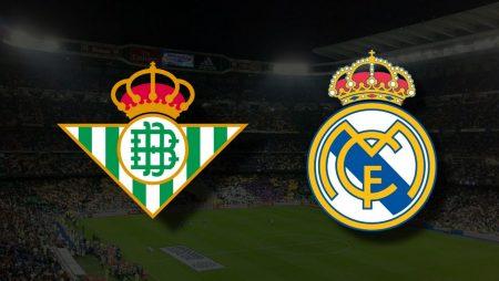 Apostas Real Betis x Real Madrid La Liga 28/08/21