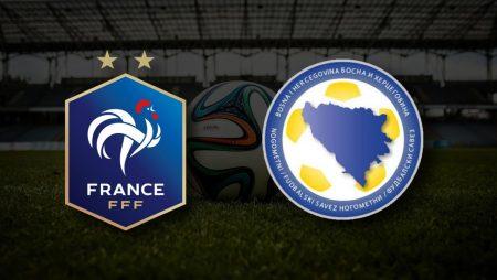 Apostas França x Bósnia & Herzegovina Eliminatórias da Copa do Mundo 01/09/21