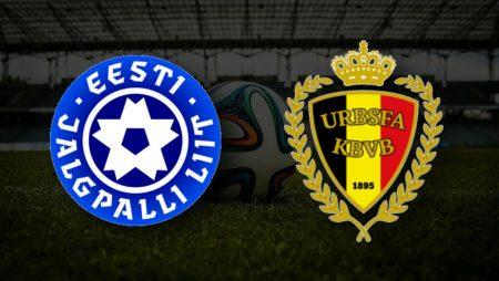 Apostas Estônia x Bélgica Eliminatórias Copa do Mundo 02/09/21