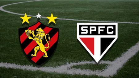 Apostas Sport Recife x São Paulo Brasileirão 22/08/21