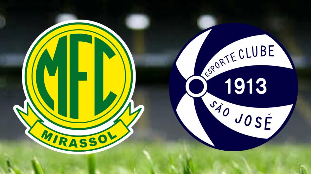 Apostas Mirassol x São José Brasileirão Série C 03/09/21