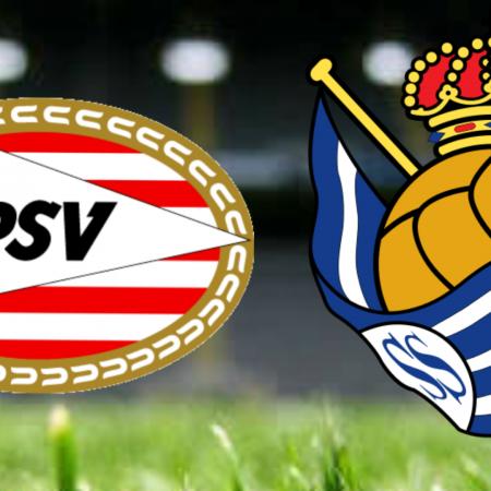 Apostas PSV Eindhoven x Real Sociedad Liga Europa 16/09/21