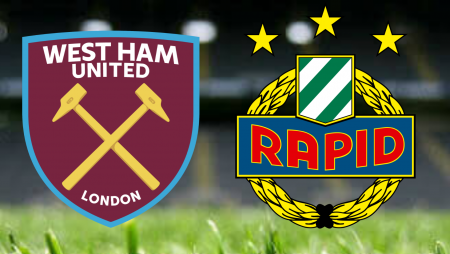 Apostas West Ham x Rapid Viena Liga Europa 30/09/21