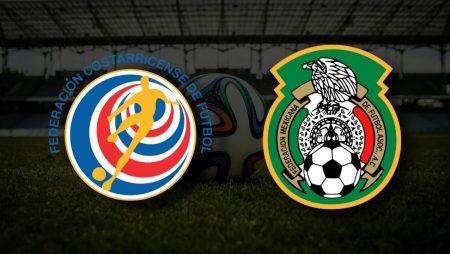 Apostas Costa Rica x México Eliminatórias Copa do Mundo 05/09/21