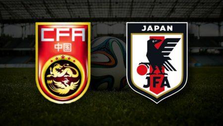 Apostas China x Japão Eliminatórias Copa do Mundo 07/09/21