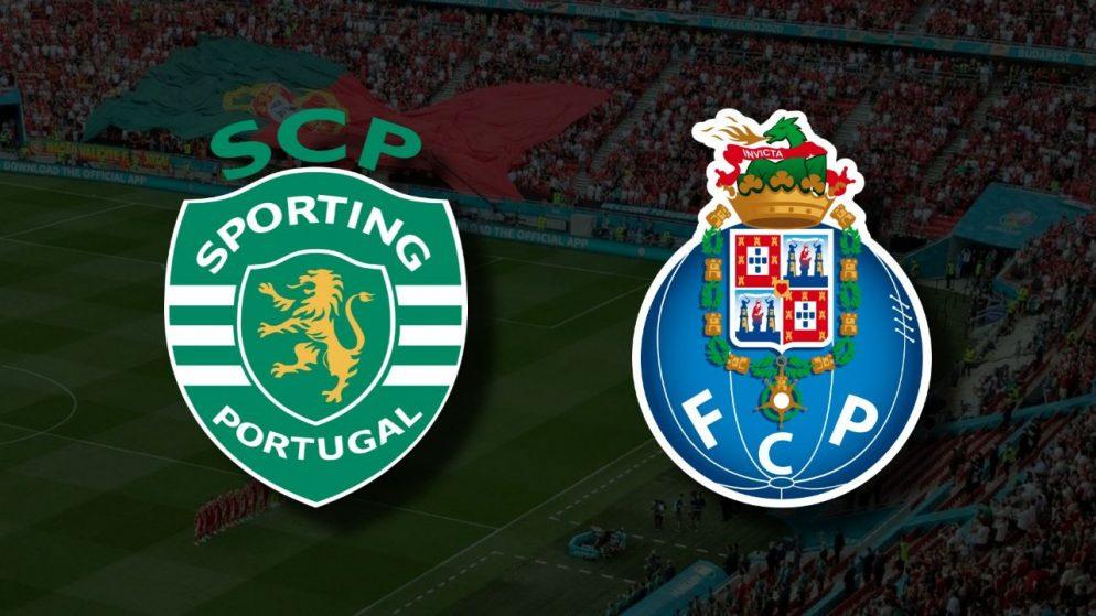 Apostas Sporting x Porto Primeira Liga 11/09/21