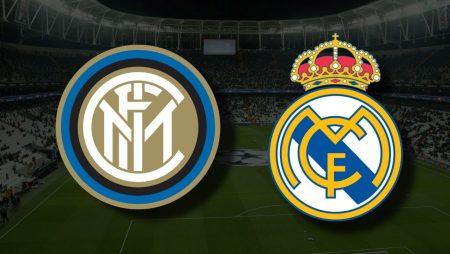 Apostas Inter de Milão x Real Madrid Liga dos Campeões 15/09/21