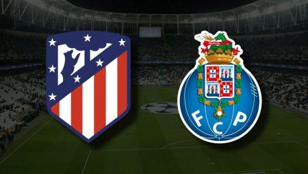 Apostas Atlético de Madrid x Porto Liga dos Campeões 15/09/21