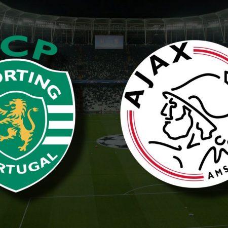Apostas Sporting x Ajax Liga dos Campeões 15/09/21