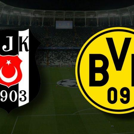 Apostas Besiktas x Borussia Dortmund Liga dos Campeões 15/09/21
