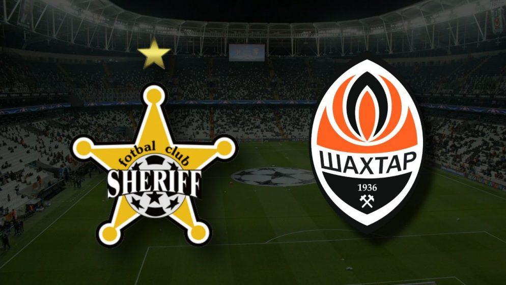 Apostas Sheriff Tiraspol x Shakhtar Donetsk Liga dos Campeões 15/09/21