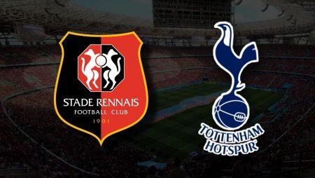 Apostas Rennes x Tottenham Liga Conferência 16/09/21