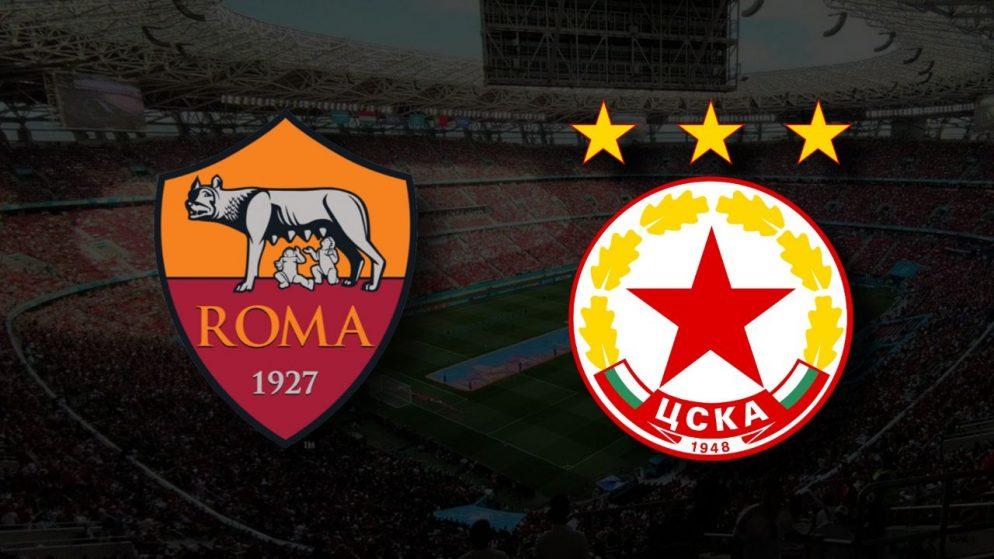 Apostas Roma x CSKA Sofia Liga Conferência 16/09/21