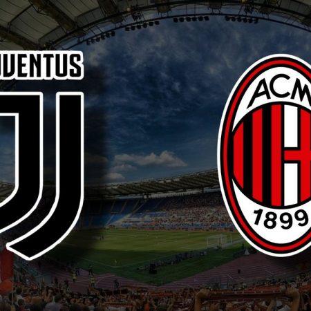 Apostas Juventus x Milan Serie A 19/09/21