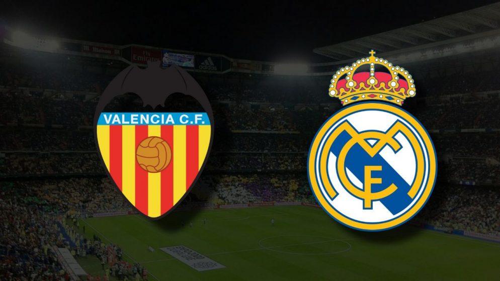 Apostas Valencia x Real Madrid La Liga 19/09/21