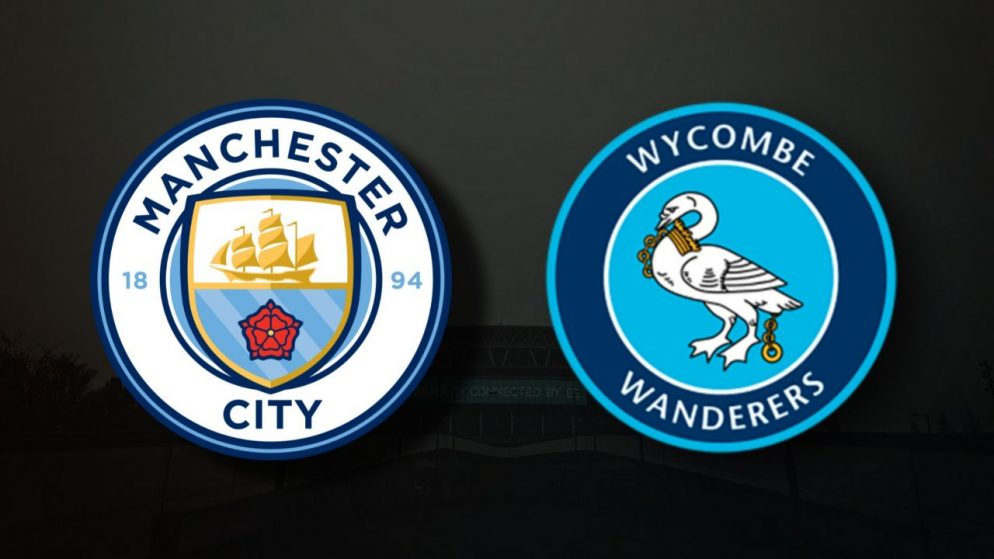 Apostas Manchester City x Wycombe Wanderers EFL Cup 21/09/21