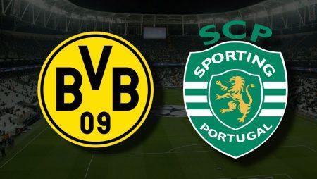 Apostas Borussia Dortmund x Sporting CP Liga dos Campeões 28/09/21