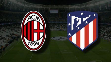 Apostas Milan x Atlético de Madrid Liga dos Campeões 28/09/21