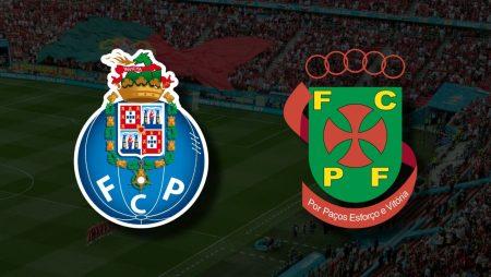 Apostas Porto x Paços de Ferreira Primeira Liga 02/10/21