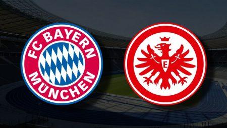 Apostas Bayern de Munique x Eintracht Frankfurt Bundesliga 03/10/21