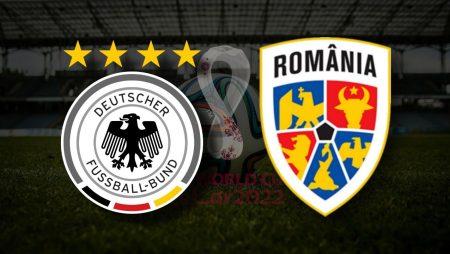 Apostas Alemanha x Romênia Eliminatórias da UEFA 08/10/21