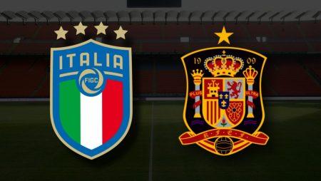 Apostas Itália x Espanha Nations League 06/10/21